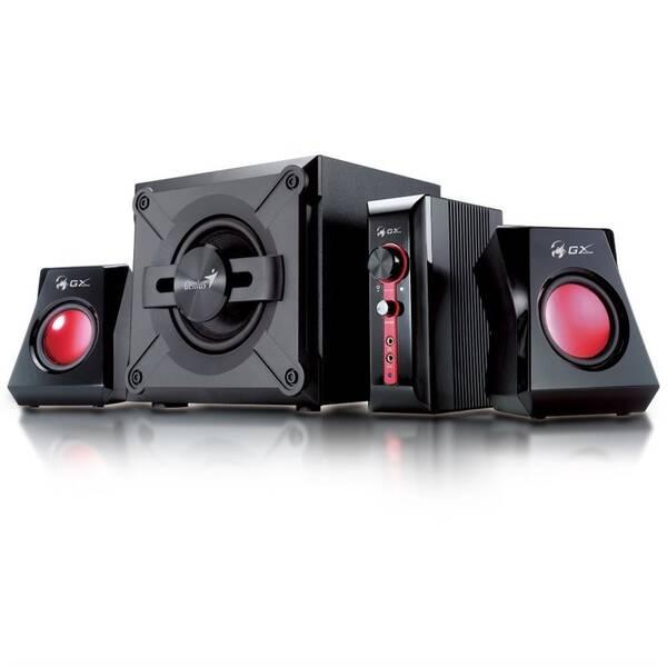 Reproduktory Genius GX Gaming SW-G 2.1 1250, Verze II. (31730019400) černé/červené