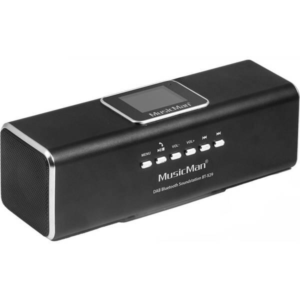 Radiopřijímač s DAB Technaxx BT-X29 a reproduktor MusicMan (4663) černý