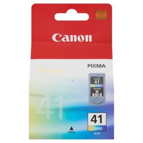 Inkoustová náplň Canon CL-41C, 312 stran, CMY - originální (0617B001)