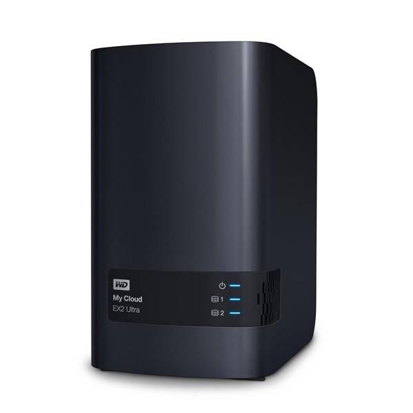 Datové uložiště (NAS) Western Digital My Cloud EX2 Ultra 4TB (WDBVBZ0040JCH-EESN) černé (vrácené zboží 8800285232)