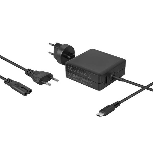 Napájecí adaptér Avacom USB-C PD 65W + USB A (ADAC-FCA-65PD) (vrácené zboží 8800682882)
