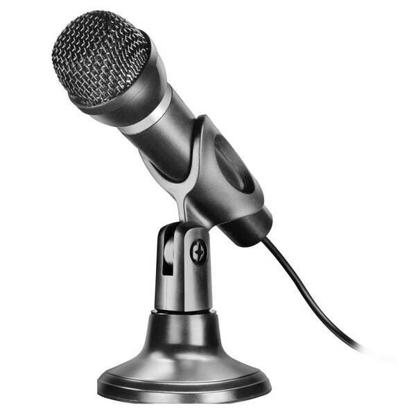 Mikrofón Speed Link Capo Desk & Hand (SL-8703-BK) čierny