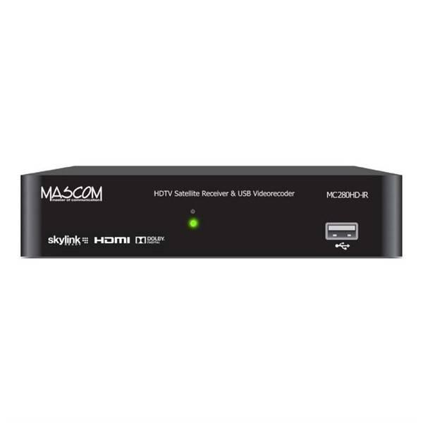 Satelitní přijímač Mascom MC280HD-IR v HD černý (vrácené zboží 8800368682)