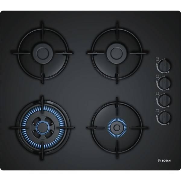 Plynová varná platňa Bosch POH6B6B10 čierna