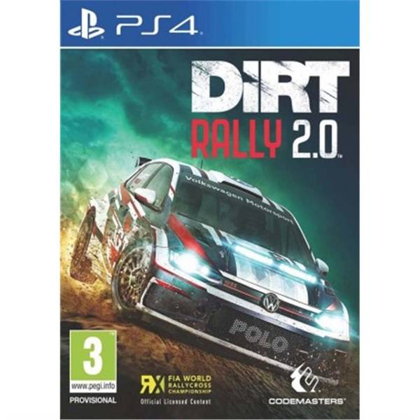 Hra Codemasters PlayStation 4 DiRT Rally 2.0 (4020628754365)