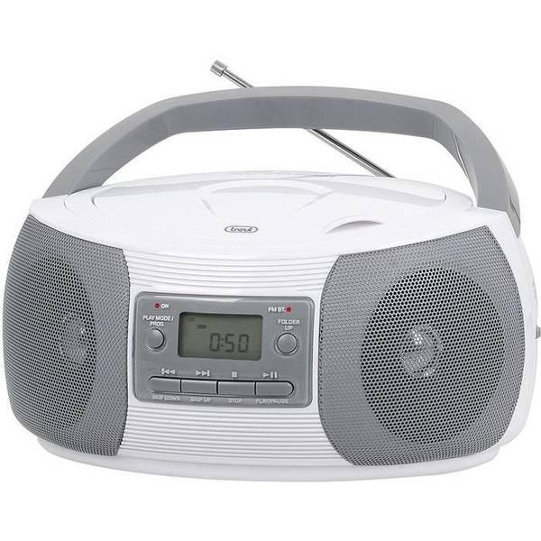 Radiomagnetofon s CD Trevi CMP 524MP3 bílý (vrácené zboží 8800119118)