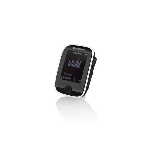 MP3 přehrávač GoGEN MXM 421 GB16 BT černý/bílý