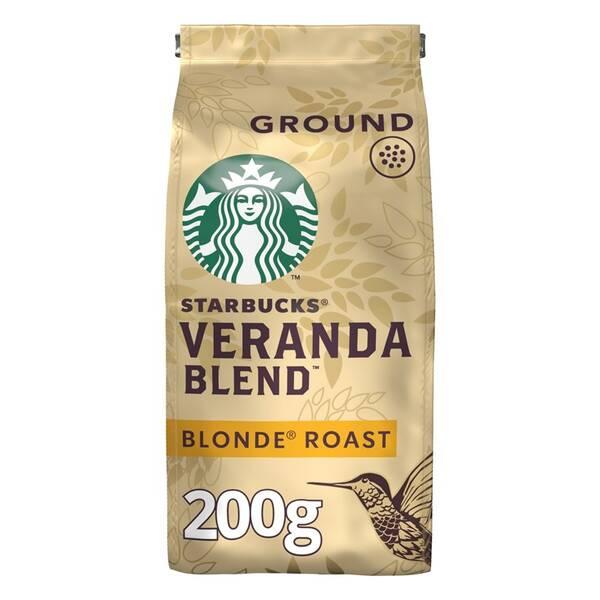 Káva mletá Starbucks BLONDE VERANDA BLEND 200g