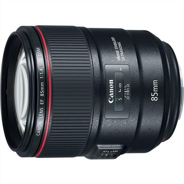 Objektiv Canon EF 85 mm f/1.4 L IS USM - SELEKCE AIP1 (2271C005) černý