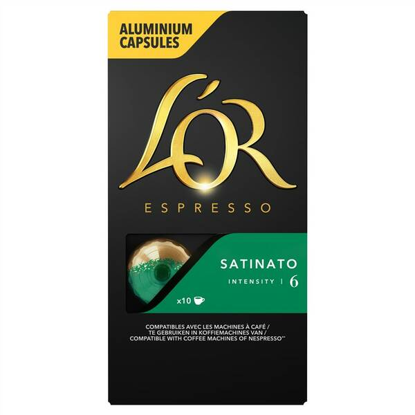 Kapsle pro espressa L'or SATINATO
