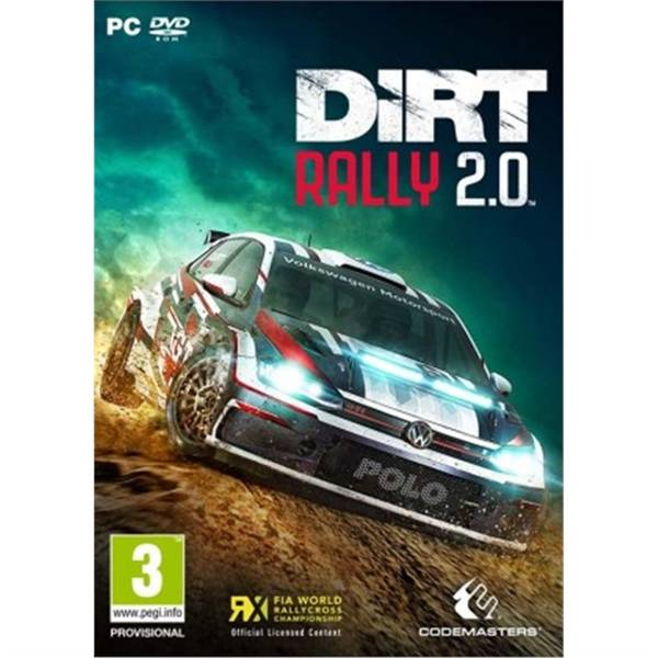 Hra Codemasters PC DiRT Rally 2.0 (4020628754372)