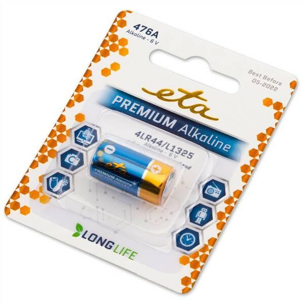 Baterie alkalická ETA PREMIUM 476A, blistr 1ks (476APREM1)