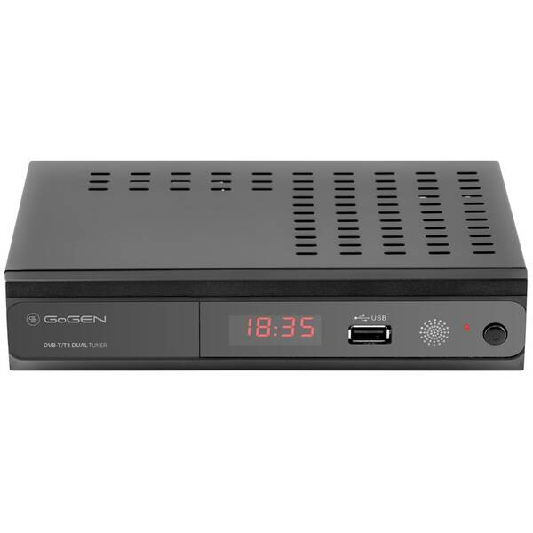 Set-top box GoGEN DVB 219 T2 DUAL černý