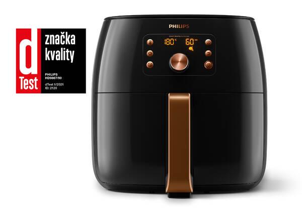 Fritéza teplovzdušná Philips HD9867/90 čierna