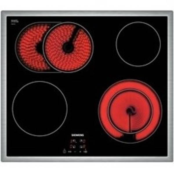 Sklokeramická varná deska Siemens ET645HN17E nerez