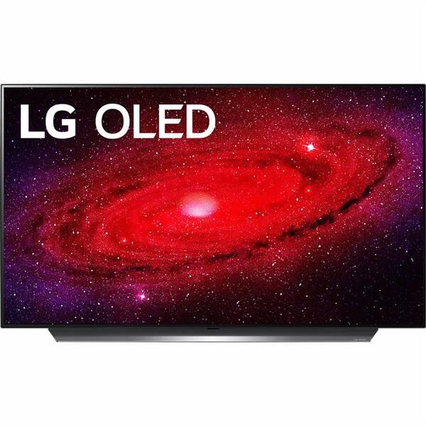 Televize LG OLED48CX stříbrná