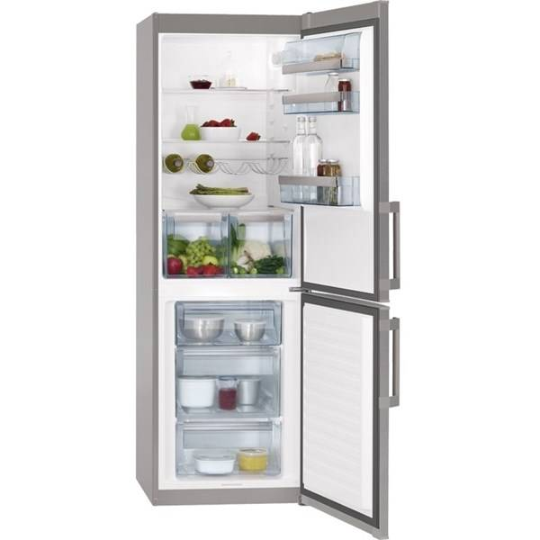 Chladnička s mrazničkou AEG S53620CSX2 nerez