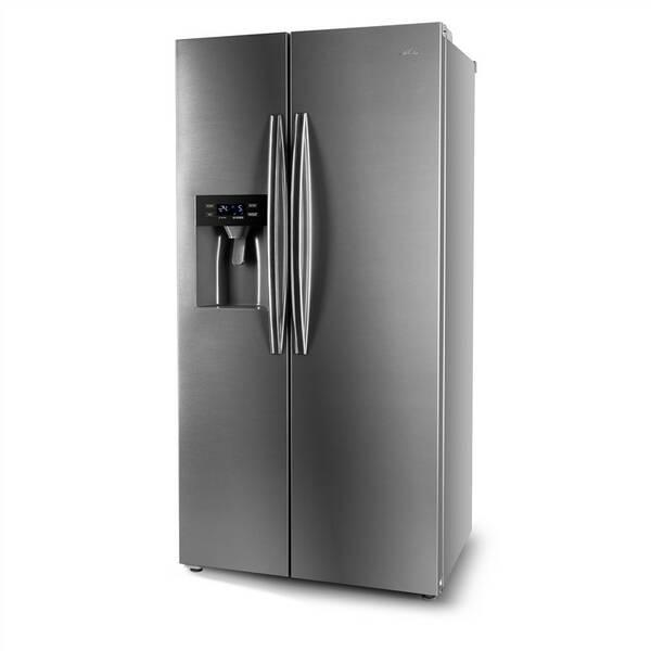 Americká lednice ETA 137190010 nerez