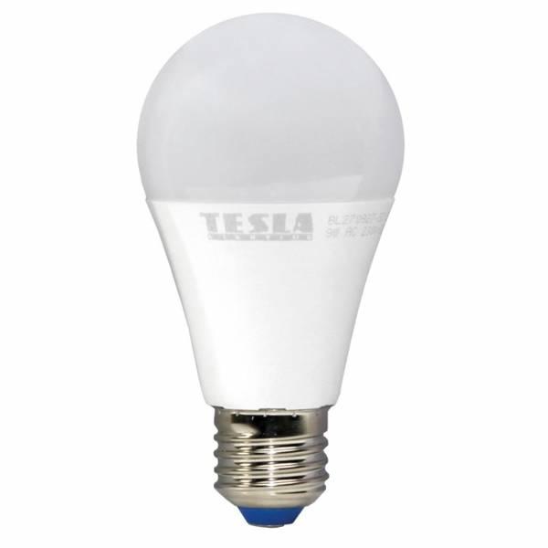 Žárovka LED Tesla klasik stmívatelná, 9W, E27, teplá bílá
