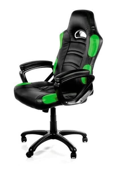 Herná stolička Arozzi ENZO (ENZO-GN) čierna/zelená