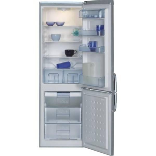 Kombinace chladničky s mrazničkou Beko CSA 29022 X nerez