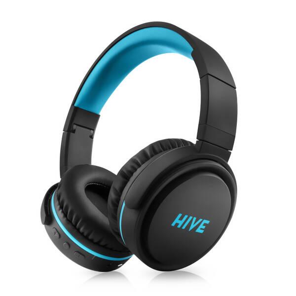 Sluchátka Niceboy HIVE XL (hive-xl) černá/tyrkysová