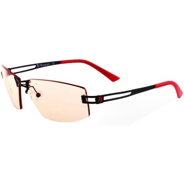 Herné okuliare Arozzi VISIONE VX-600, jantarová skla (VX600-5) čierne/červené