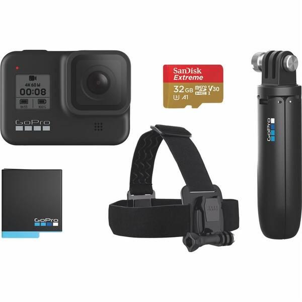 Outdoorová kamera GoPro HERO 8 Black + bundle