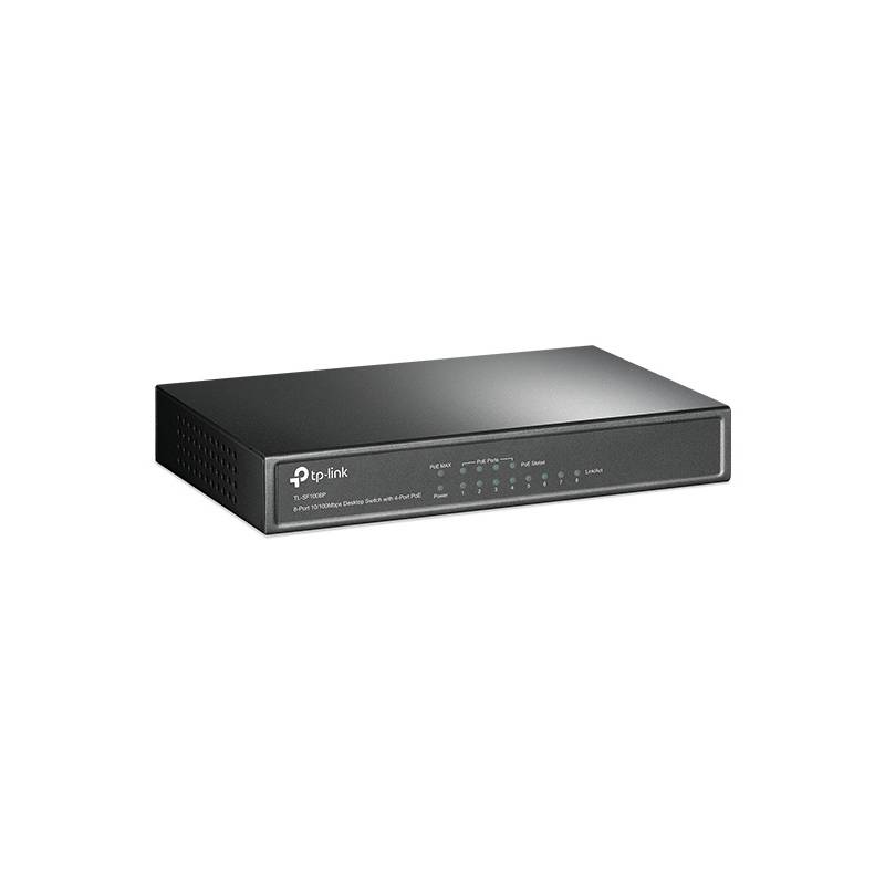 Switch TP-Link TL-SF1008P (TL-SF1008P) čierny