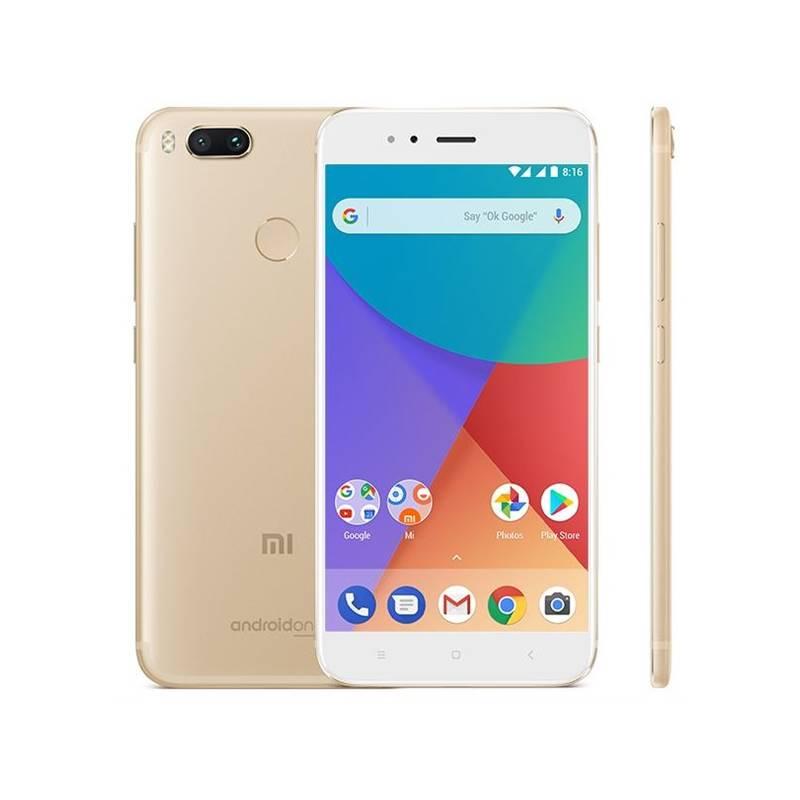 Mobilný telefón Xiaomi Mi A1 64 GB Dual SIM CZ LTE (16088) zlatý Software F-Secure SAFE, 3 zařízení / 6 měsíců (zdarma) + Doprava zadarmo