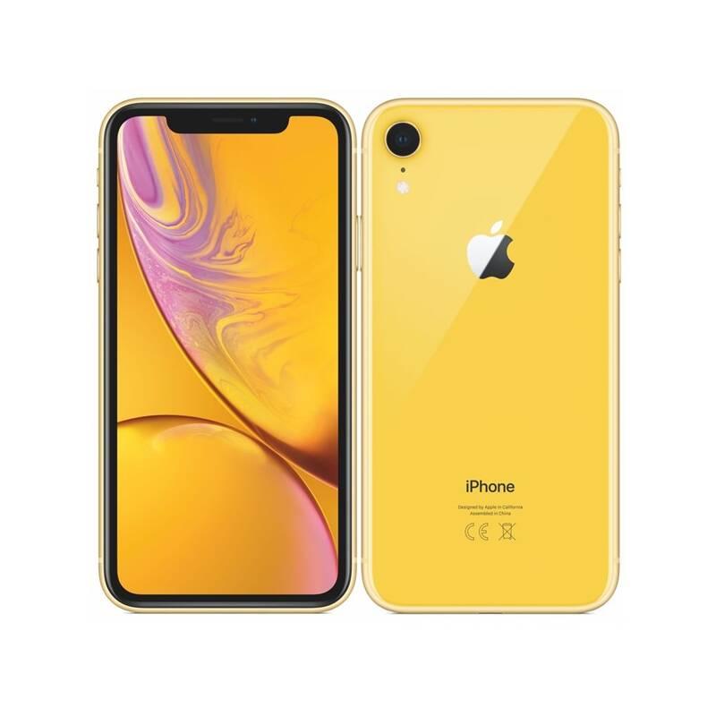 Mobilný telefón Apple iPhone XR 64 GB - yellow (MRY72CN/A) + Doprava zadarmo