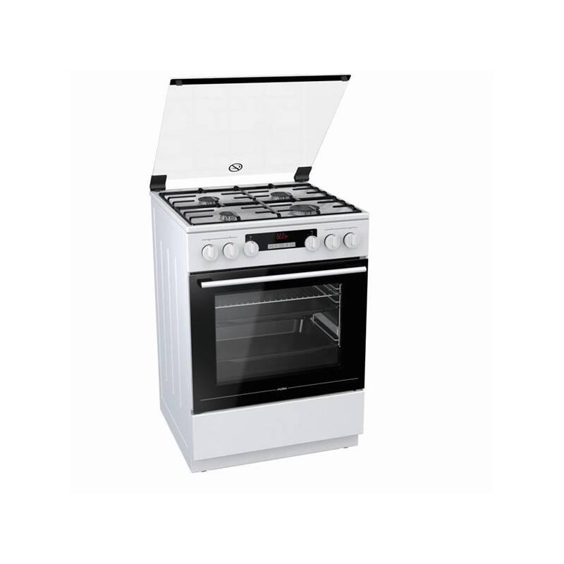 Kombinovaný šporák Mora Premium K 868 AW6 biely + Prodloužená záruka Mora SK - 5let záruka sporáky v hodnote 15.00 € + Doprava zadarmo
