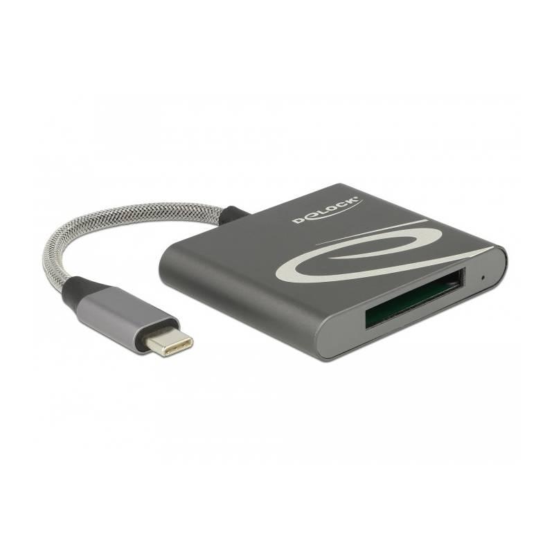 Čtečka paměťových karet DeLock USB-C/XQD 2.0 (91746)