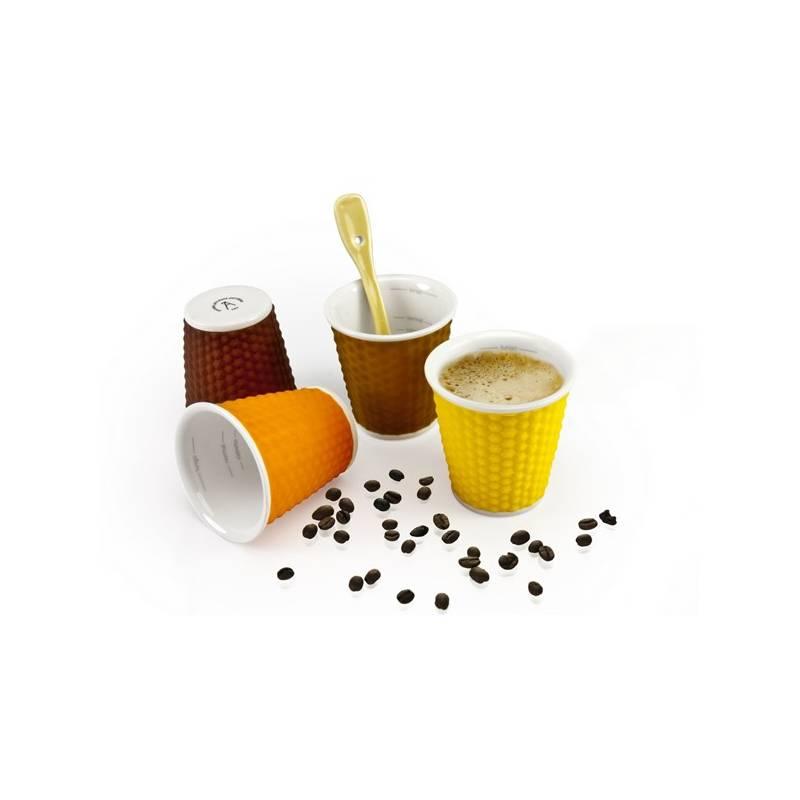 Sada hrnčekov LES ARTISTES mix 100 ml (A-0792)