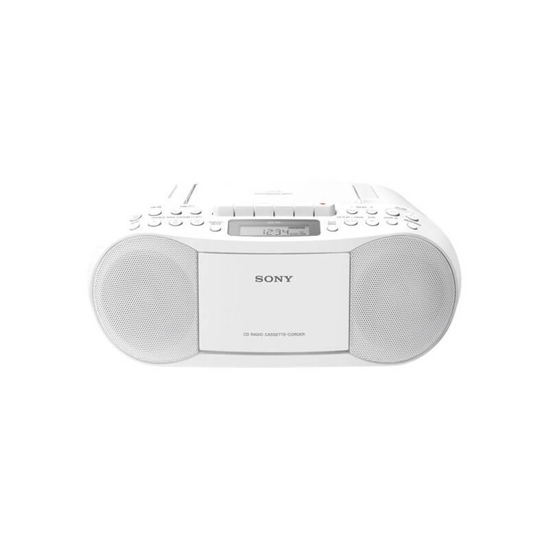 Rádioprijímač s CD Sony CFD-S70W biely