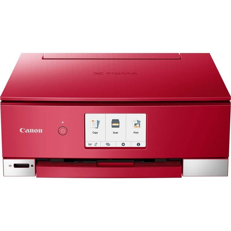 Tiskárna multifunkční Canon PIXMA TS8252 (2987C046) červené