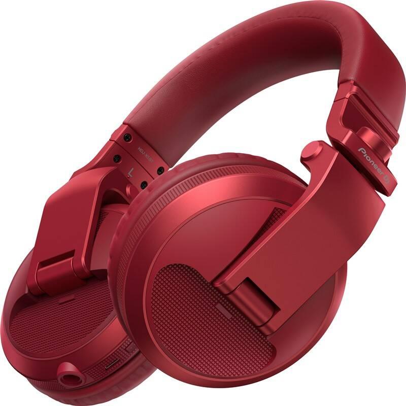 Slúchadlá Pioneer DJ HDJ-X5BT-R (HDJ-X5BT-R) červená + Doprava zadarmo