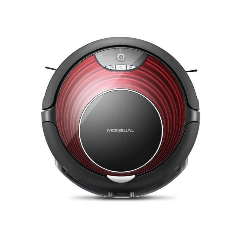 Vysávač robotický Moneual ME770Red čierny/červený + Doprava zadarmo