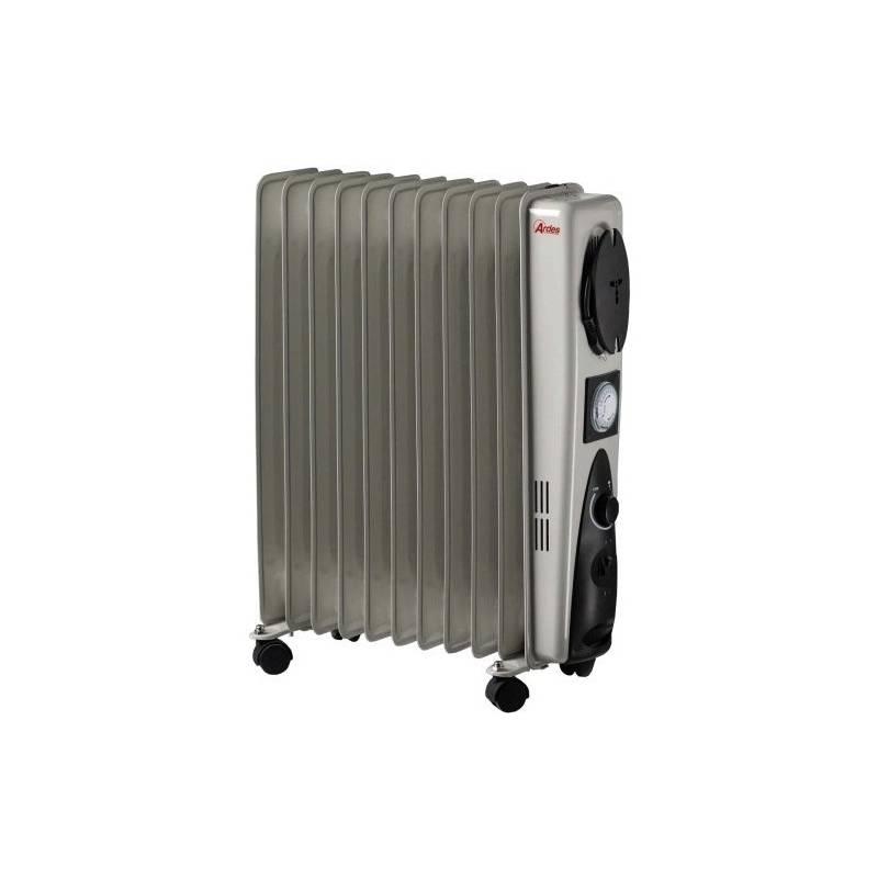 Olejový radiátor Ardes 473B sivý