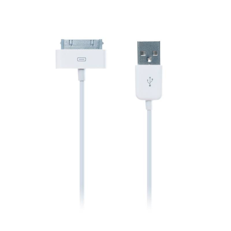 Kabel Connect IT USB/30 pin, MFi, 1m (CI-97) bílý