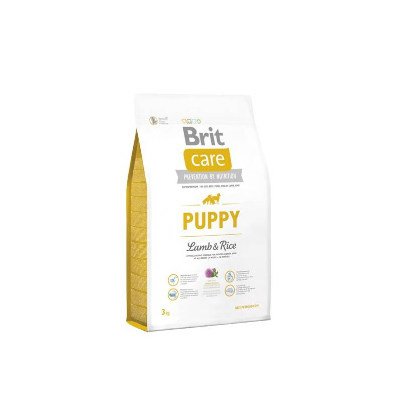 Granuly Brit Care Puppy Lamb & Rice 3 kg