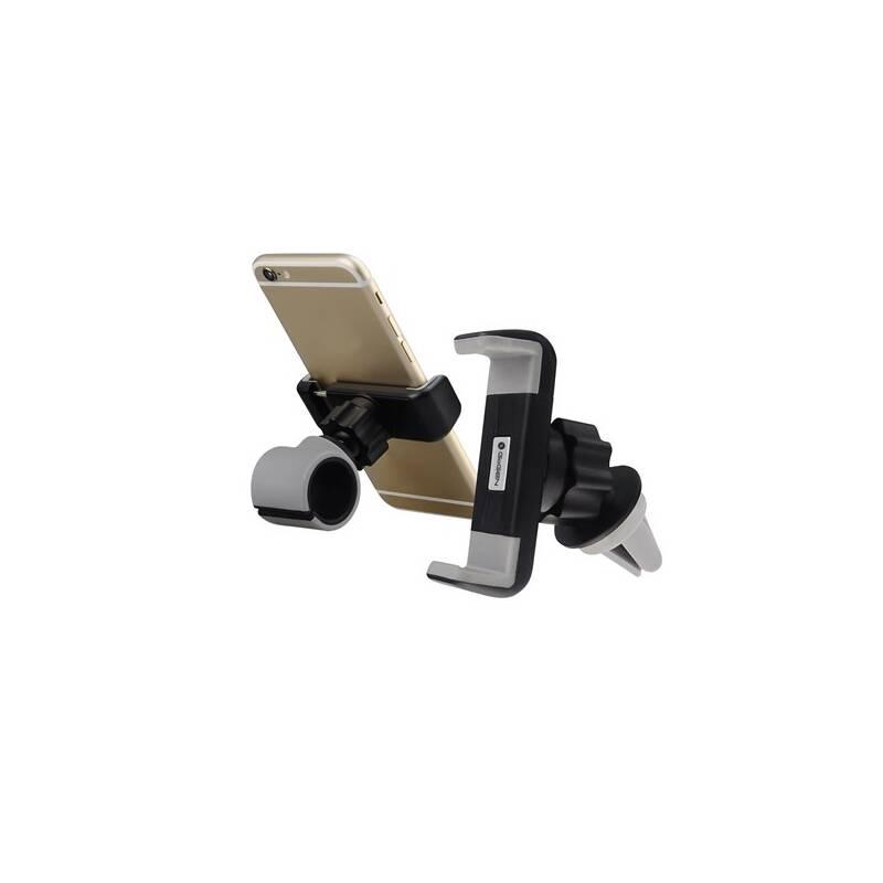 Držiak na mobil GoGEN MCH640, univerzální, 2v1 (MCH640) čierne/sivé