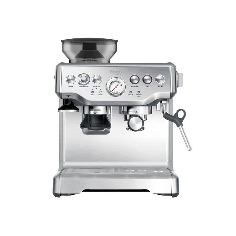 Espresso SAGE BES870 strieborné + Doprava zadarmo
