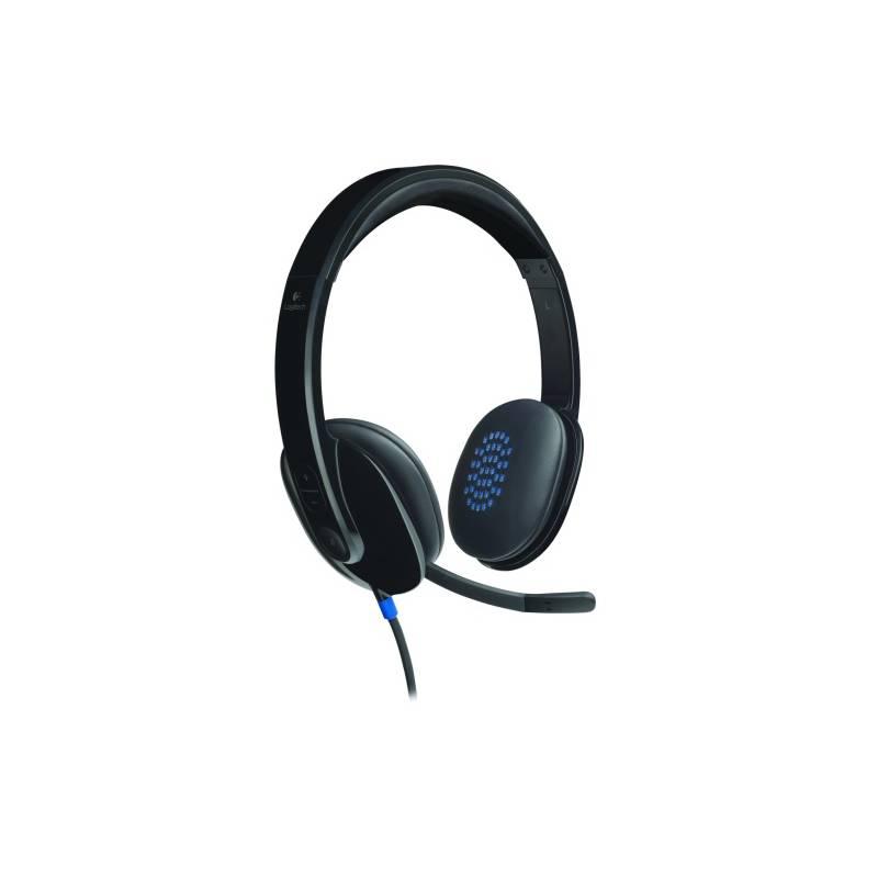 Headset Logitech H540 USB (981-000480) čierny