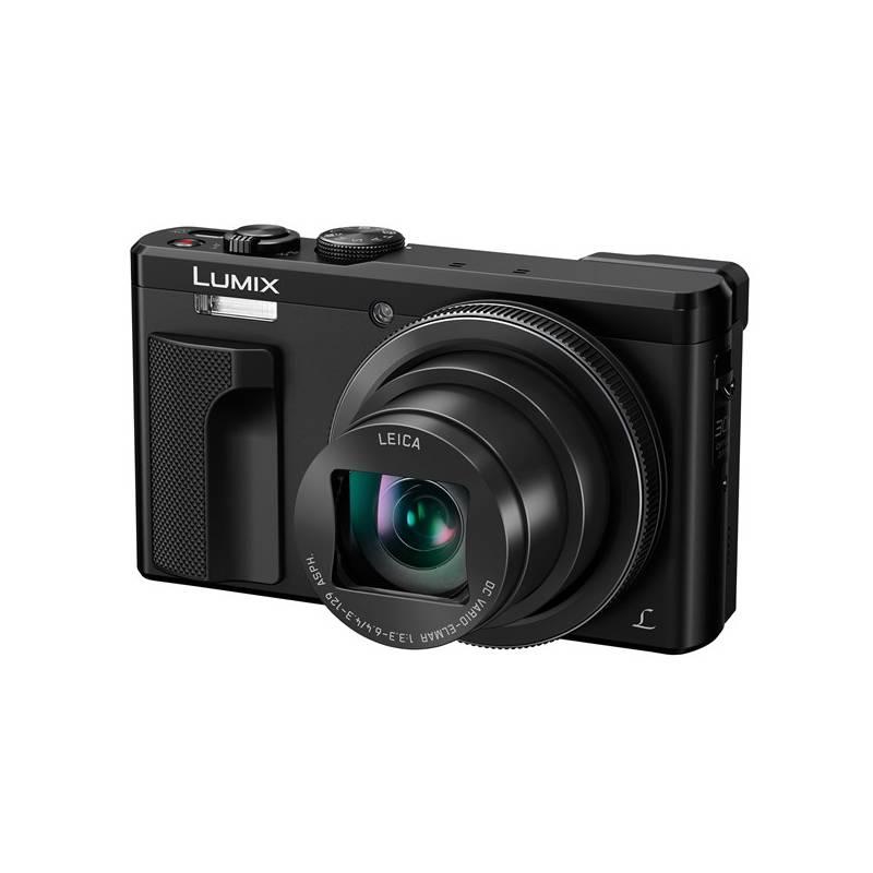 Digitálny fotoaparát Panasonic DMC-TZ80EP-K čierny + Doprava zadarmo