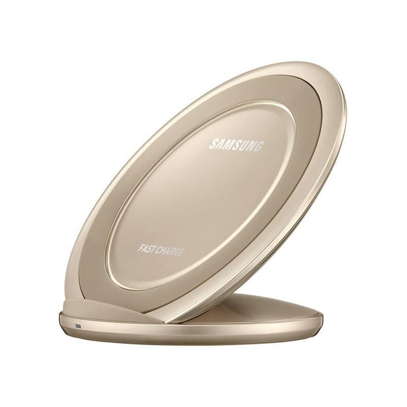Bezdrátová nabíječka Samsung EP-NG930 pro Galaxy S7 / S7 Edge (EP-NG930BFEGWW) zlatý