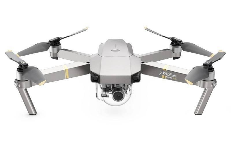 Dron DJI Mavic Pro Fly More Combo Platinum (DJIM0252C) sivý + Doprava zadarmo