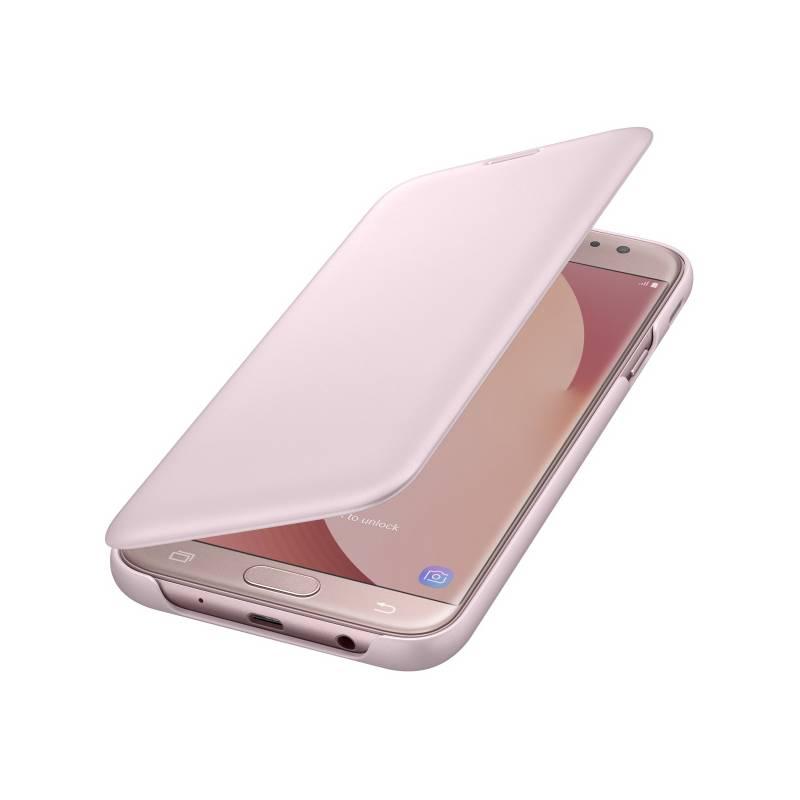 Puzdro na mobil flipové Samsung Wallet Cover pro J5 2017 (EF-WJ530C) ( 6db8c9a5acf