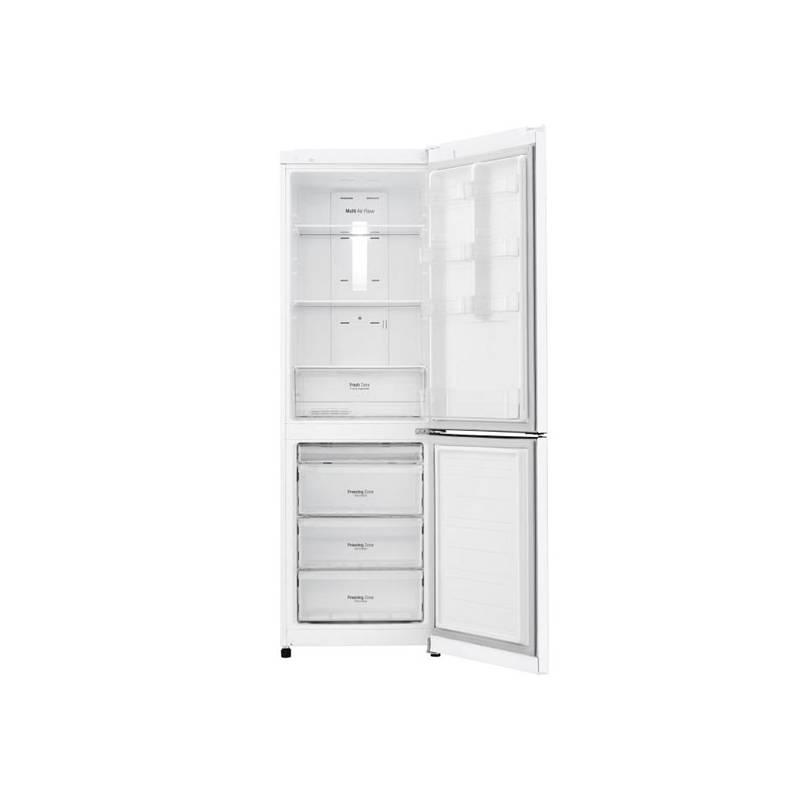 Kombinácia chladničky s mrazničkou LG GBB39SWDZ biela + Doprava zadarmo
