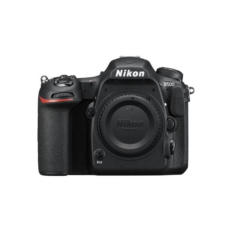 Digitálny fotoaparát Nikon D500 tělo (VBA480AE) čierny + Doprava zadarmo